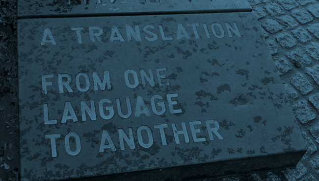 Why a specialised translator?